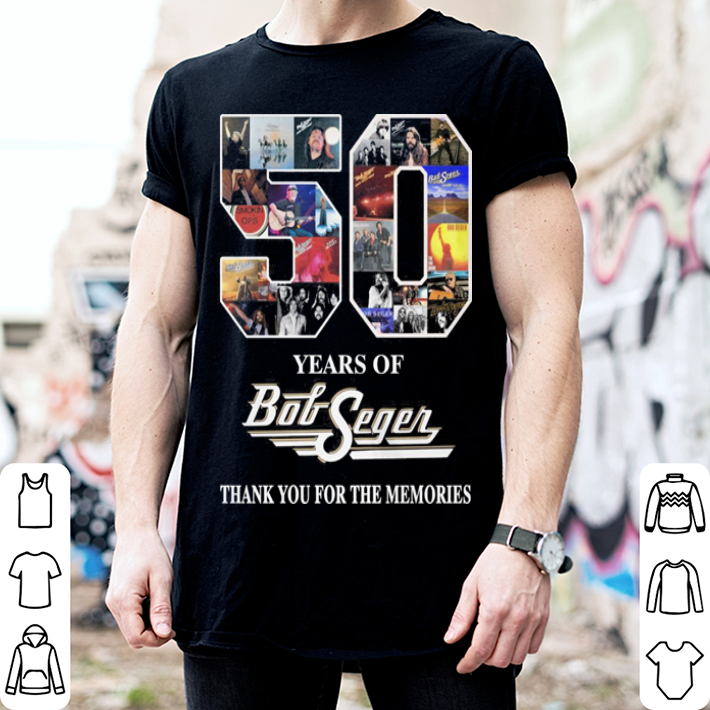 50 years of Bob Segen thank you for the memories shirt