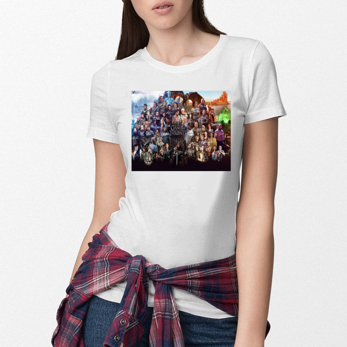 Characters Game Of Thrones Signatures shirt 3