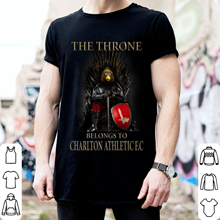 Game Of Thrones the thrones belongs to Charlton Athletic FC shirt