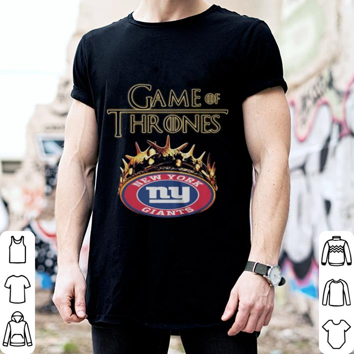 Game Of Thrones Crown New York Giants shirt 2