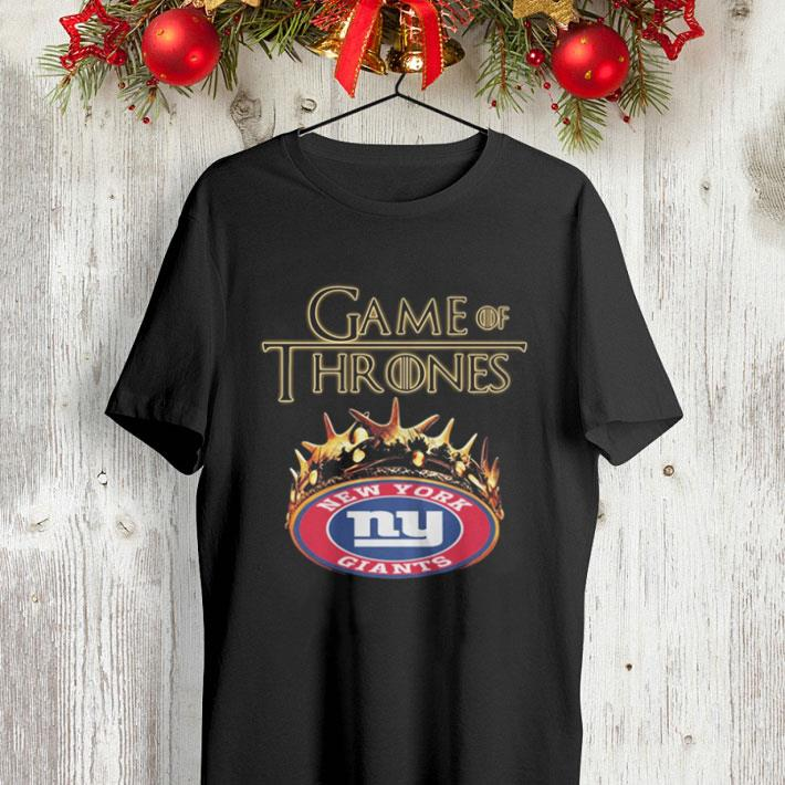 Game Of Thrones Crown New York Giants shirt