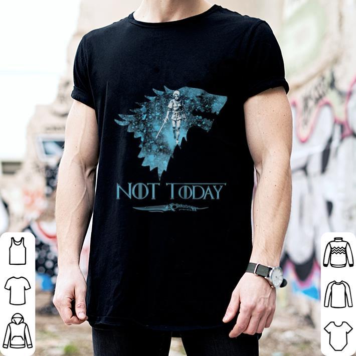 Game Of Thrones Jon Snow Arya Not Today House Stark shirt