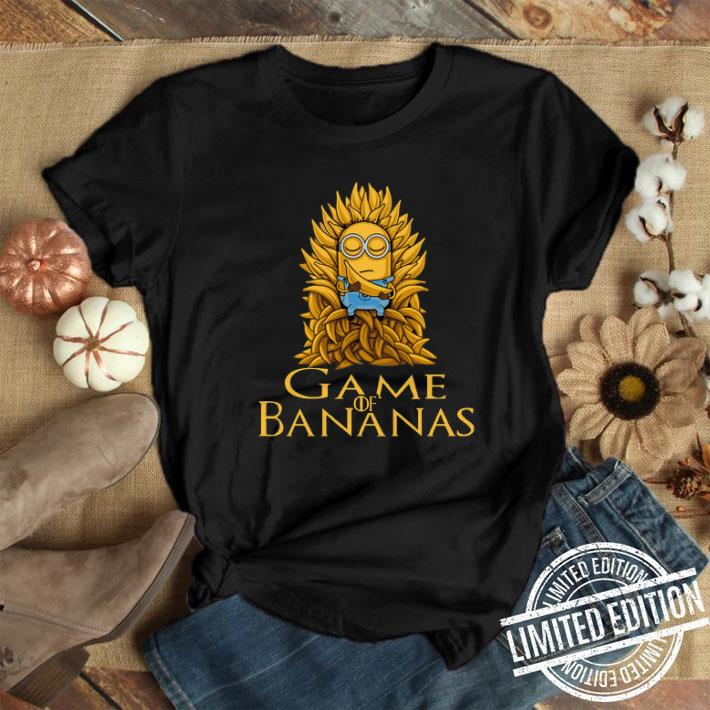 Game of Thrones Minions Game of Bananas shirt