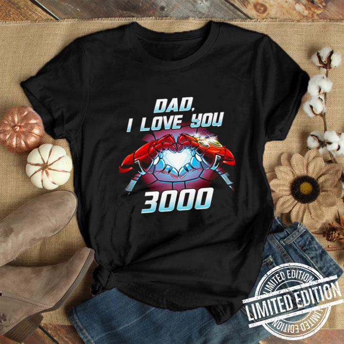 Iron Man Dad i love you 3000 Avengers Endgame shirt 1