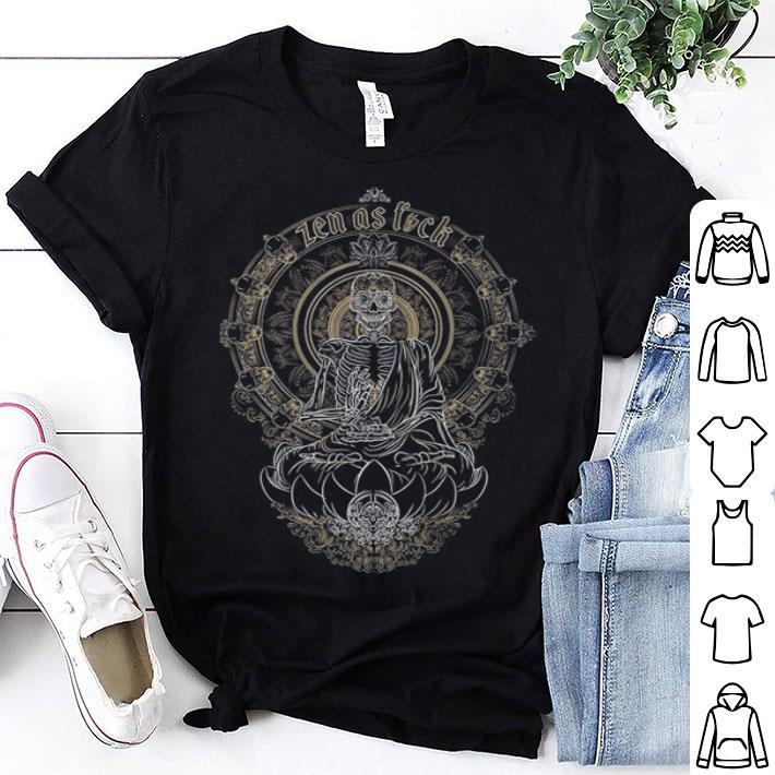 Skullistic Zen Meditating Skeleton shirt