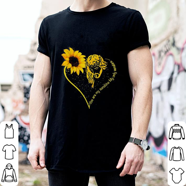 Sunflower Jesus You are my sunshine my only sunshine shirt