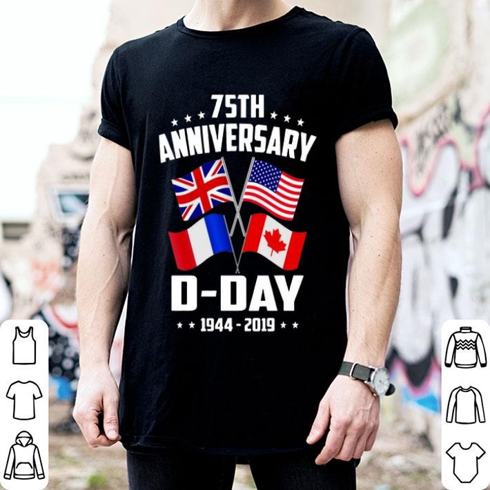 75th Anniversary D-Day 1944-2019 shirt