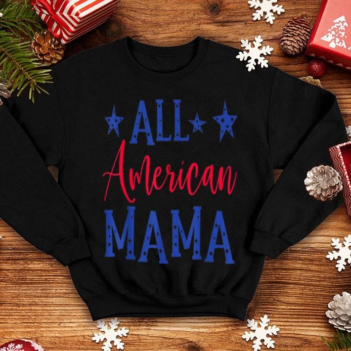 All American Mama 4th of July Family shirt