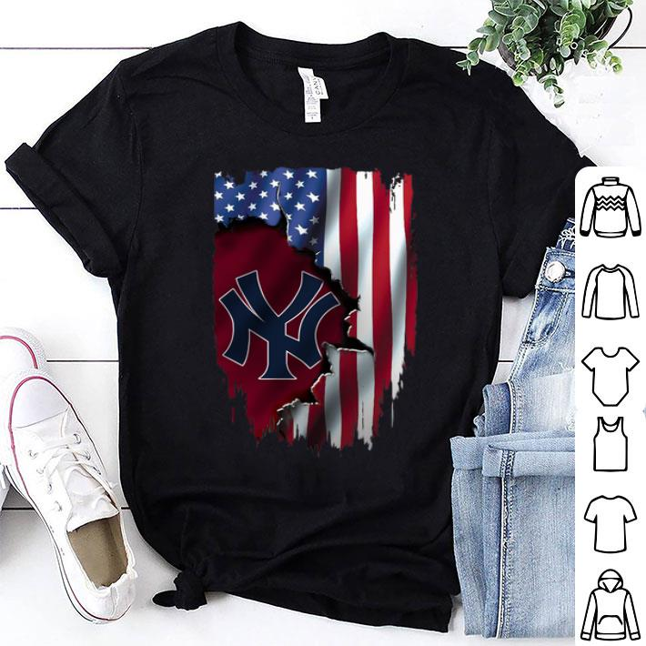 American Flag MLB New York Yankees shirt