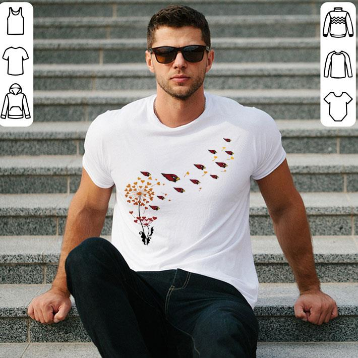 Arizona Cardinals dandelion flower shirt