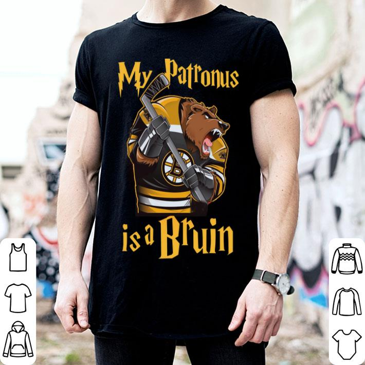 Boston Bruins my patronus is a Bruin shirt
