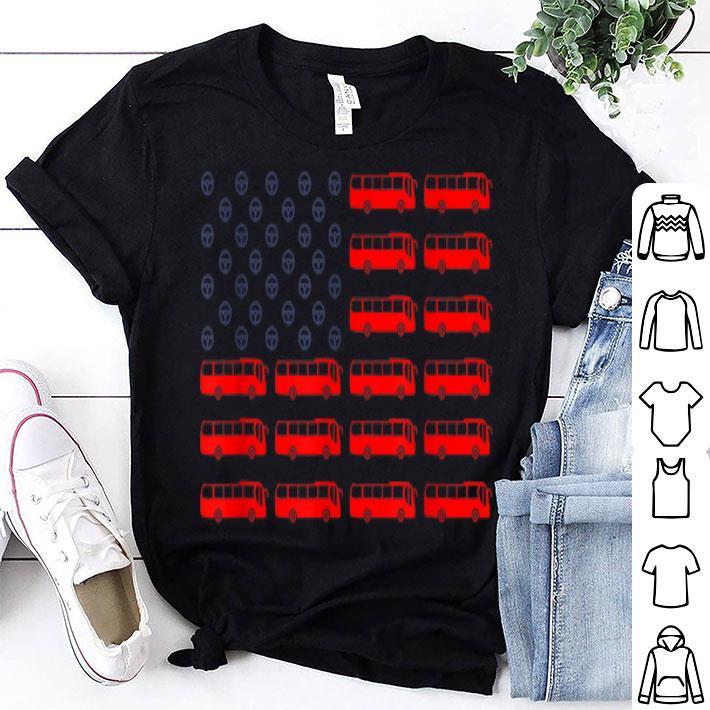Bus Drivers American Flag shirt
