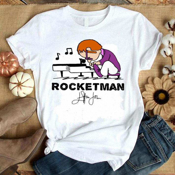 Elton John Rocketman signature shirt