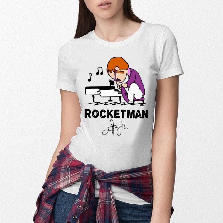 Elton John Rocketman signature shirt