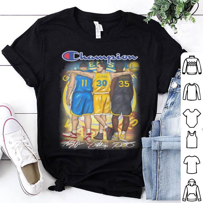 Golden State Warriors Champion signatures shirt