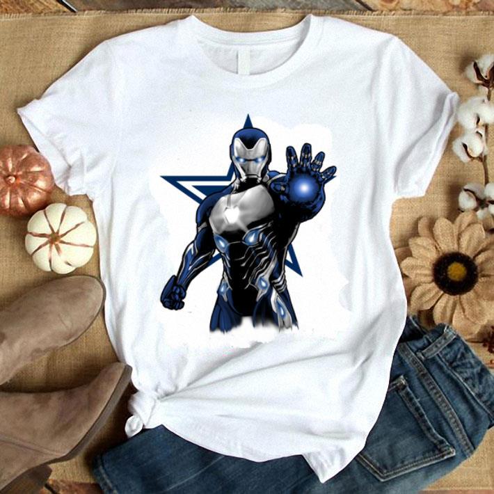 Iron Man Dallas Cowboys shirt