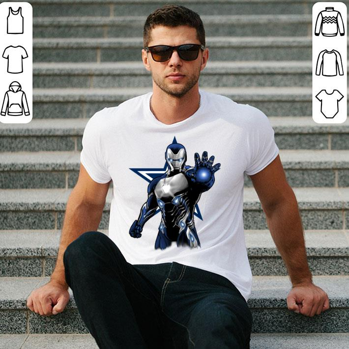 Iron Man Dallas Cowboys shirt