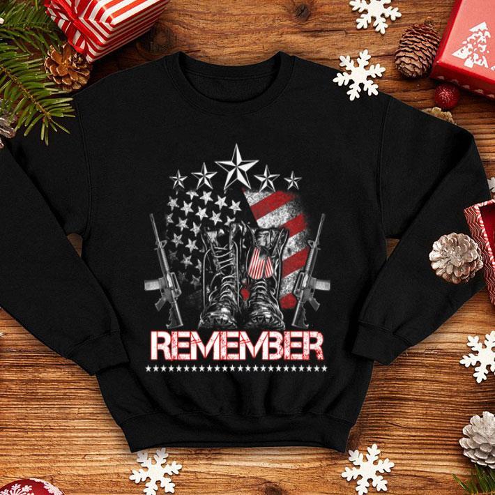 Memorial Day Proud American Flag Remember shirt