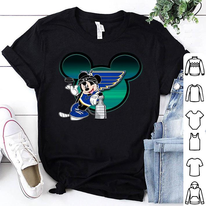 Mickey Mouse St. Louis Blues Stanley cup Champions shirt