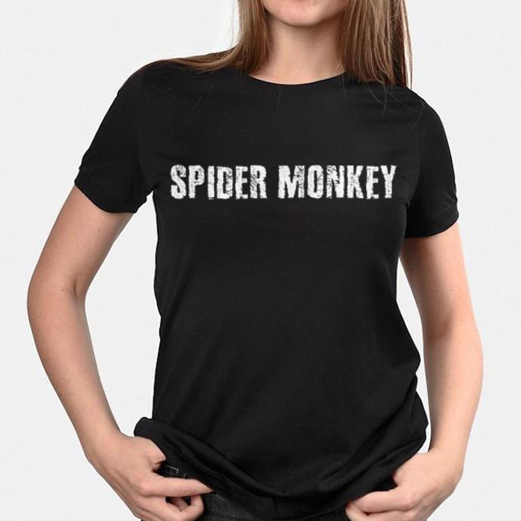 Spider Monkey Animal Jungle Humorous Idea shirt