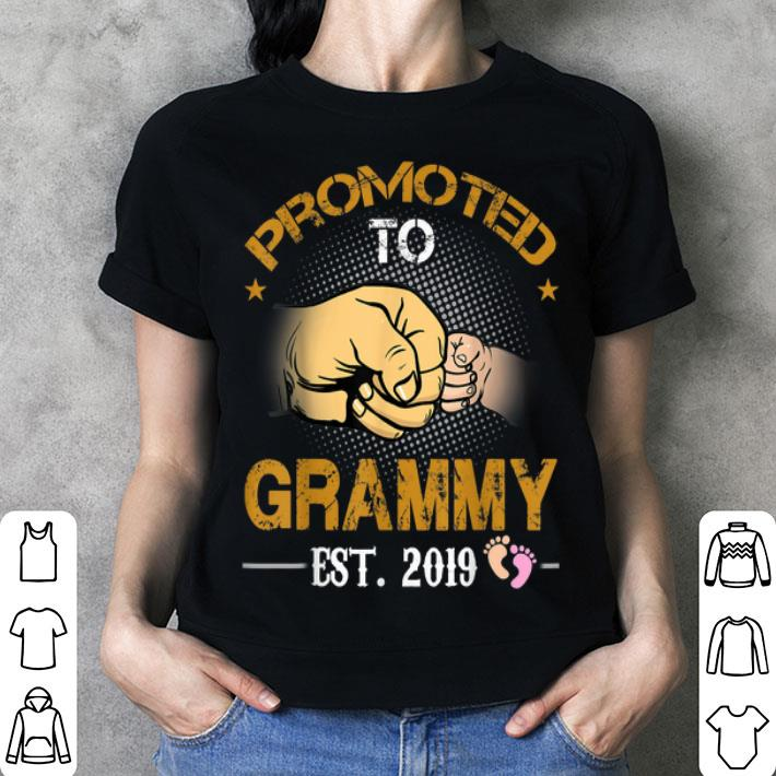 Promoted To Grammy Est 2019 New Dad Fathers Day shirt