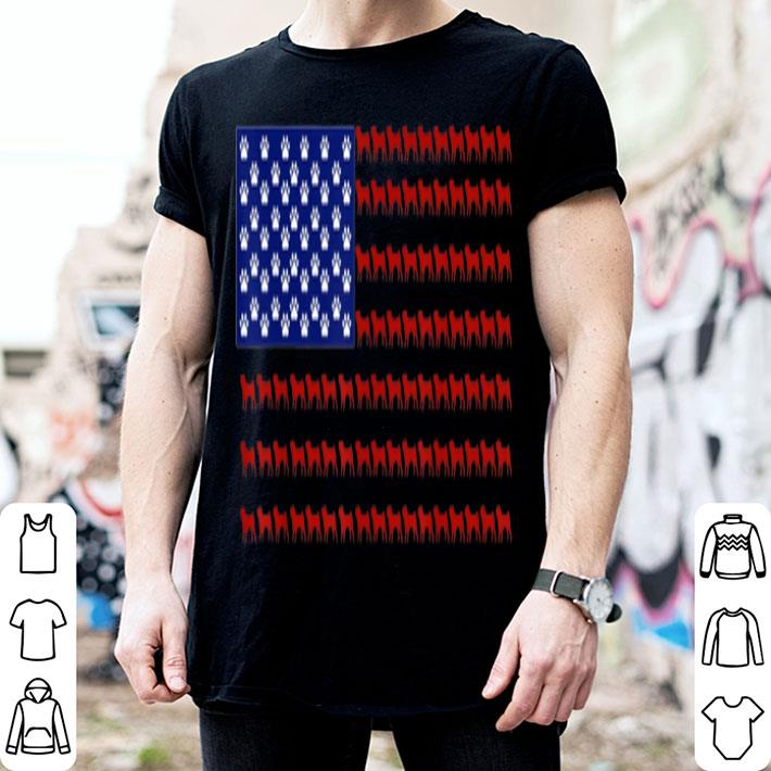 Pug American Flag The Fourth of July Pug shirt