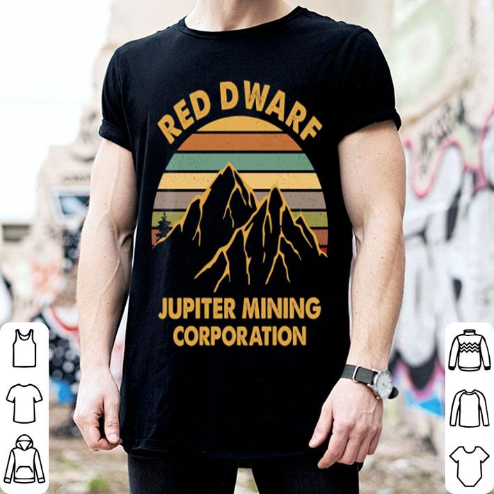 Red Dwarf jupiter mining corporation shirt