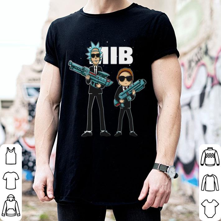 Rick and Morty MIB Men in Black International 2019 shirt