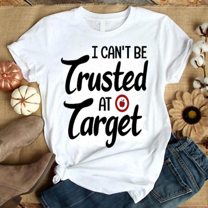 Teacher day I can't be trusted at target apple shirt