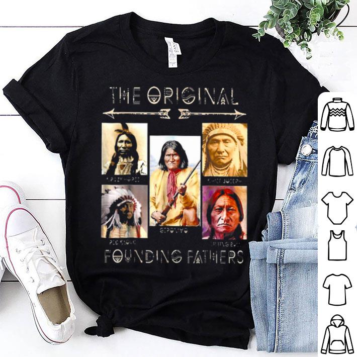 the original founding father American Indian shirt