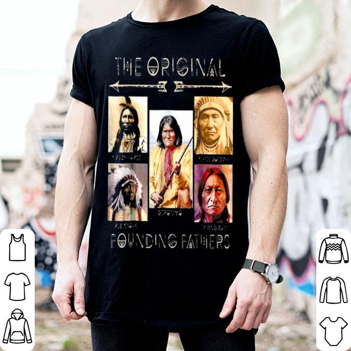 the original founding father American Indian shirt