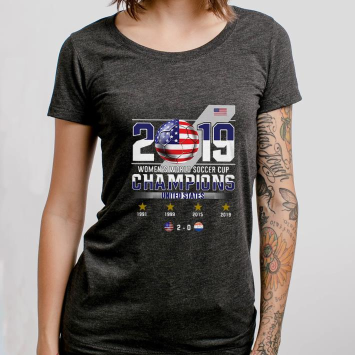 2019 Women's World Soccer Cup Champions United States shirt 3