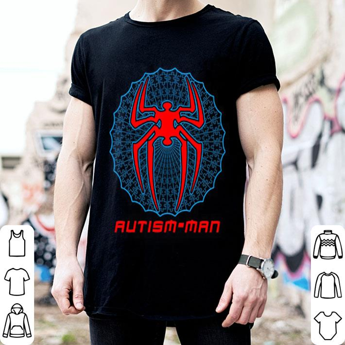 Autism-man Spider Man shirt