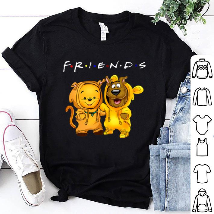 Baby Pooh and baby Scooby Doo Friends