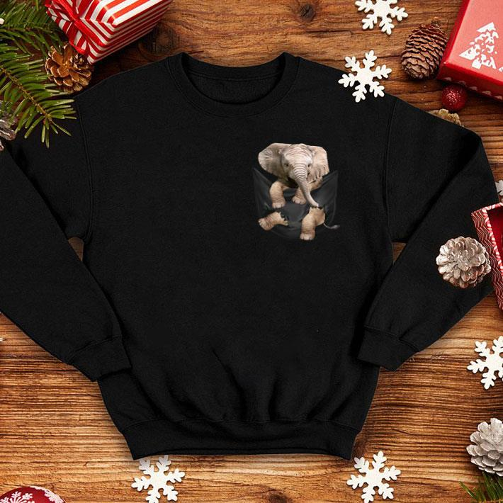 Elephant in pocket shirt