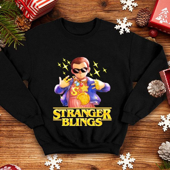 Eleven Stranger Blings Stranger Things shirt