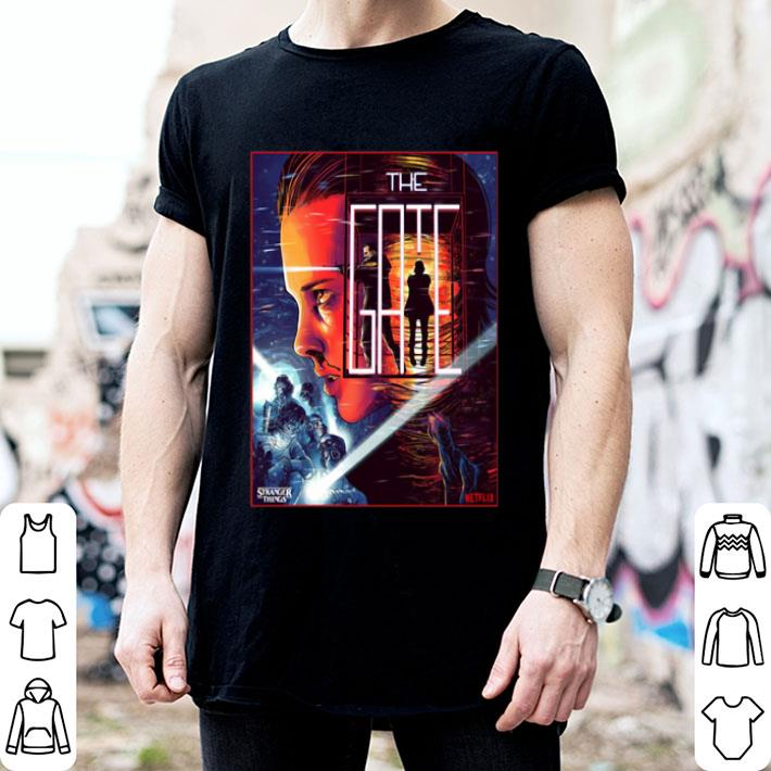 Eleven close the gate Stranger Things 3 shirt
