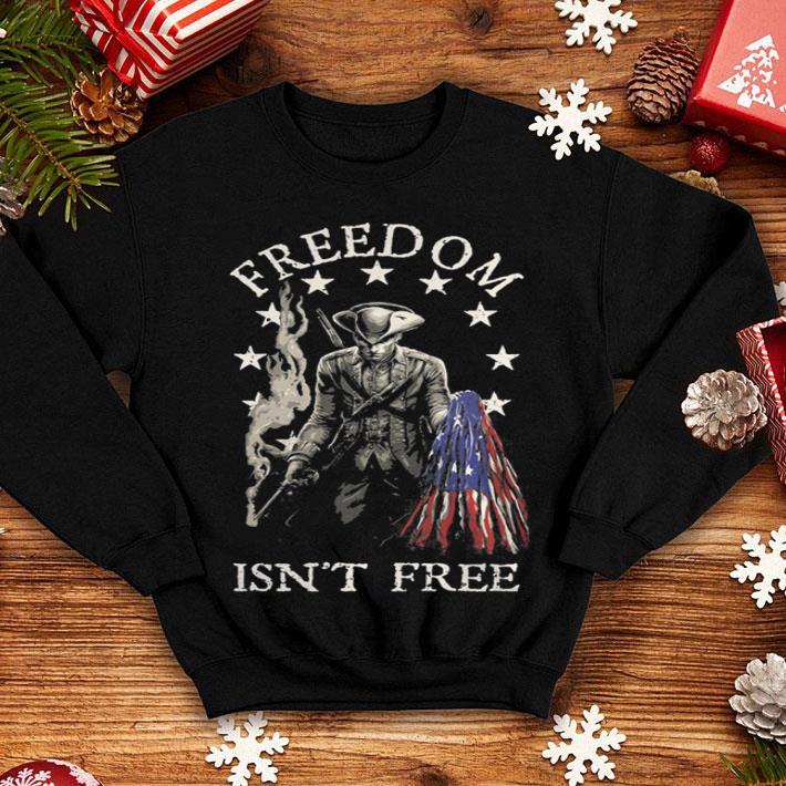 Freedom isn't free American flag shirt