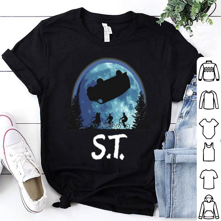 Stranger Things ET moon shirt
