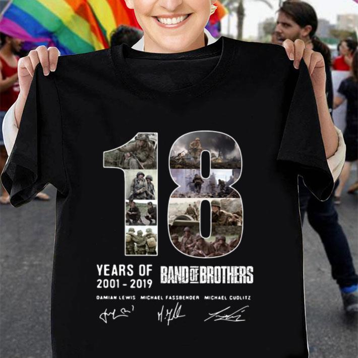 18 Years Of Band Of Brothers Signatures shirt