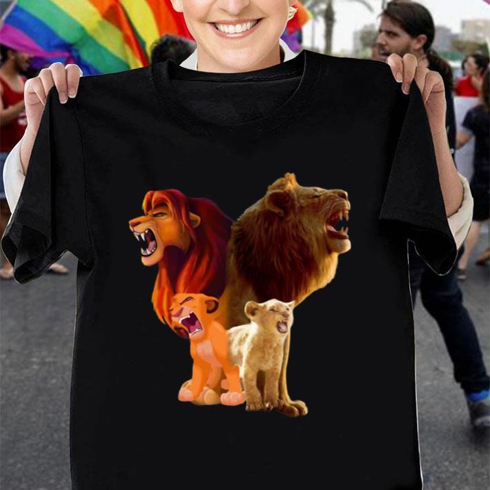 Baby Simba and adult Simba The Lion King 2019 shirt
