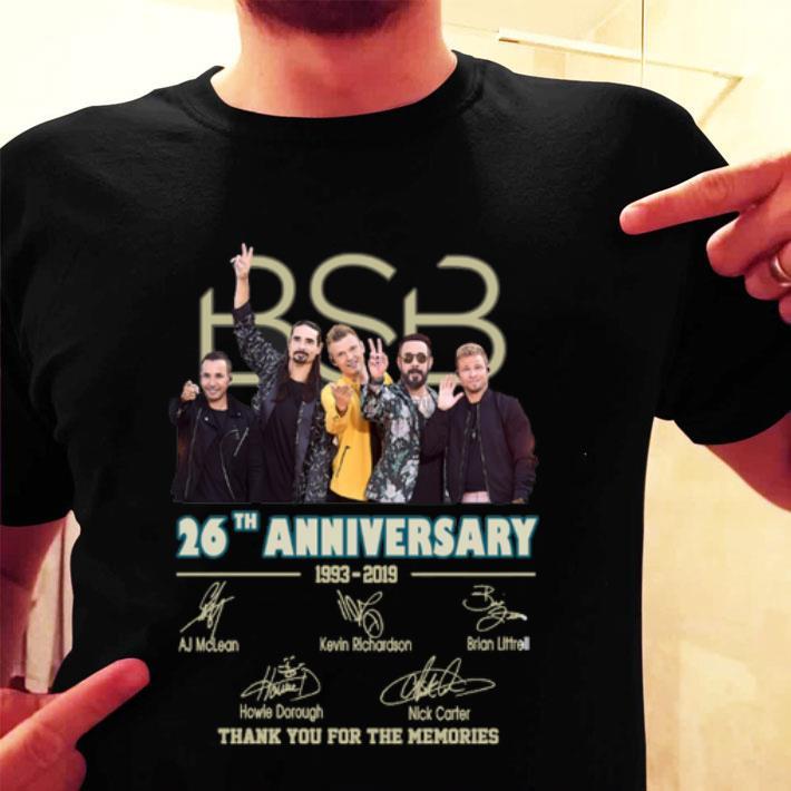 Backstreet Boys Christmas Sweater.Backstreet Boys Bsb 26th Anniversary 1993 2019 Signatures Shirt Hoodie Sweater Longsleeve T Shirt