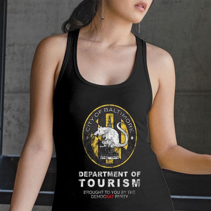 City of Baltimore Department of Tourism shirt