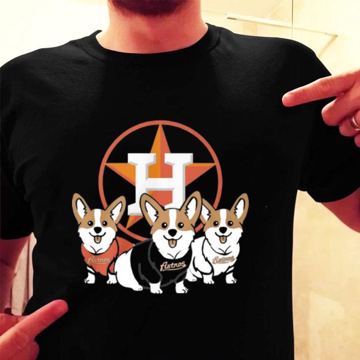 Corgi Houston Astros shirt