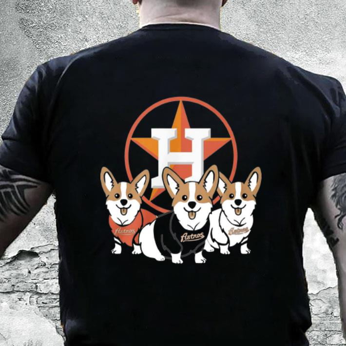 Corgi Houston Astros shirt