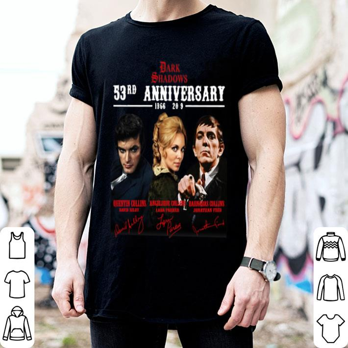 Dark Shadows 53rd Anniversary 1966-2019 Signatures shirt