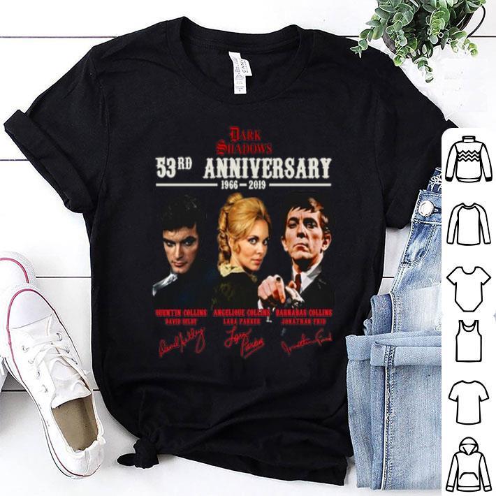 Dark Shadows 53rd anniversary 1966-2019 signatures shirt