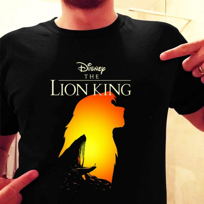 Disney The Lion King Simba sunset shirt