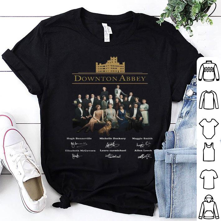 Downton Abbey all character signatures shirt