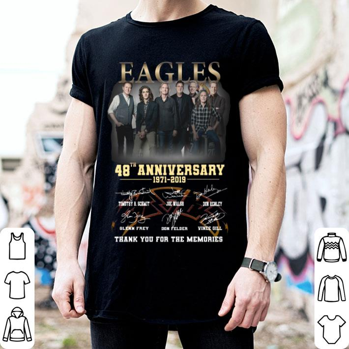 Eagles 48th anniversary 1971-2019 thank you for the memories shirt
